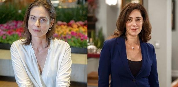 Úrsula (Silvia Pfeifer) e Maria Inês (Christiane Torloni) se salvam de uma explosão