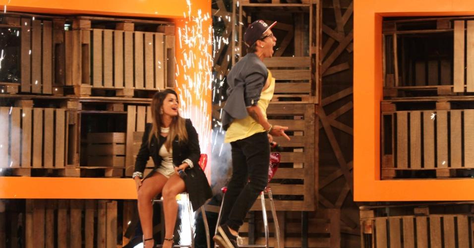 """10.dez.2014 - Com 44,38%, DH, da banda Cine, vence """"A Fazenda 7"""" e leva prêmio de R$ 2 mi"""
