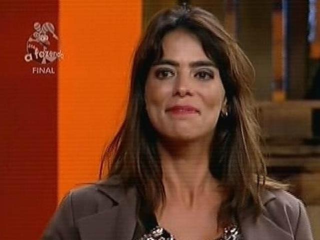 """10.dez.2014 - Heloisa Faissol é anunciada como terceira colocada na final de """"A Fazenda 7"""""""