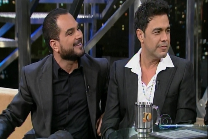 10.dez.2014 - Zezé Di Camargo e Luciano participam do