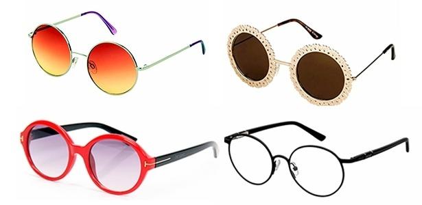 Óculos de sol em formato redondo volta com tudo  saiba quem pode usar -  12 12 2014 - UOL Universa 16e6ed20db