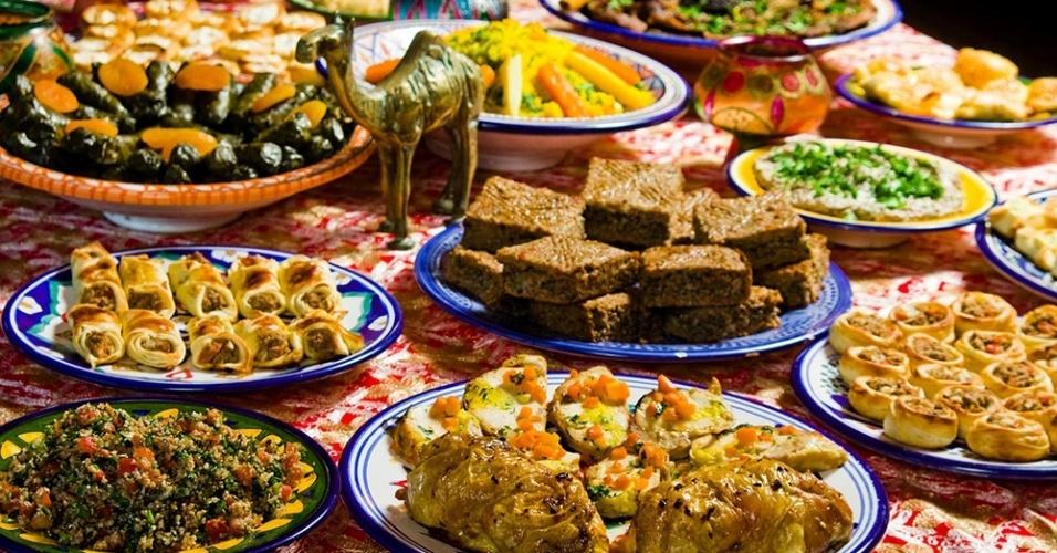 Mesa de Natal do Arab