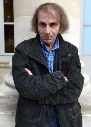 O escritor francês Michel Houellebecq, em Paris - Miguel Medina/AFP