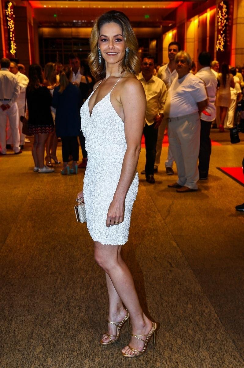 15.dez.2014 - Bianca Rinaldi marca presença no
