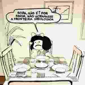 """Imagem da exposição """"O Mundo Segundo Mafalda"""", na a Praça das Artes, centro de São Paulo - Divulgação/Sylvia Masini"""