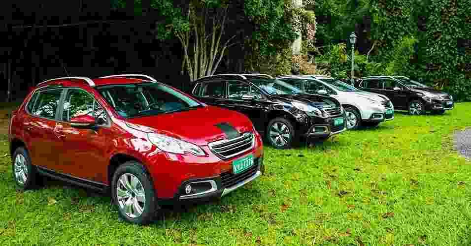 Peugeot 2008 brasileiro pré-série - Divulgação