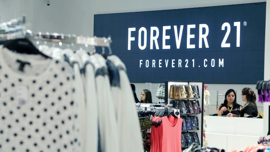 Fachada de loja da Forever 21 em São Paulo (SP) - Divulgação