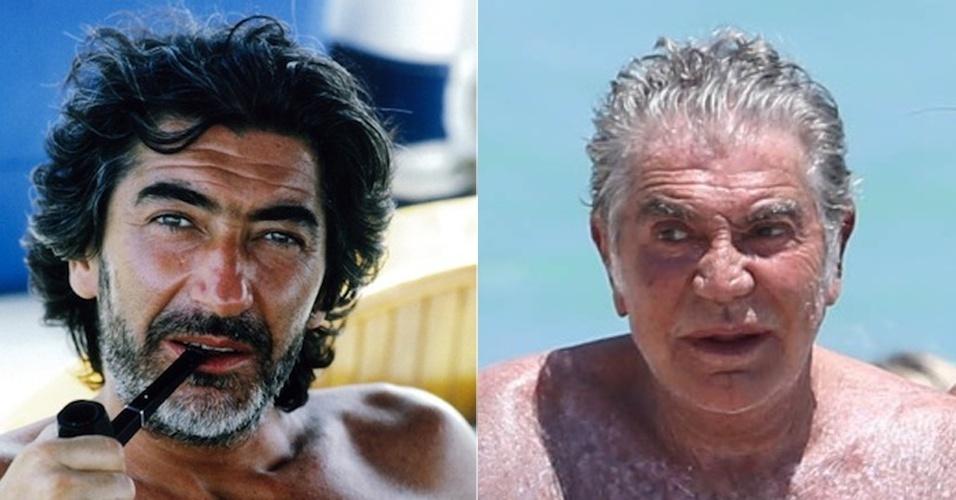 Roberto Cavalli - antes e depois
