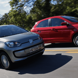 Ford Ka SEL 1.0 2015 encara Volkswagen Move up! 2015 - Murilo Góes/UOL