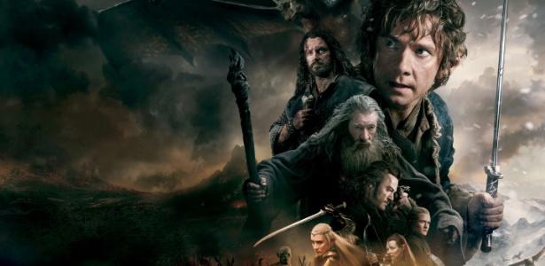 """Cenas do filme """"O Hobbit""""; edição original foi arrematada por cerca de R$ 655 mil - Divulgação"""
