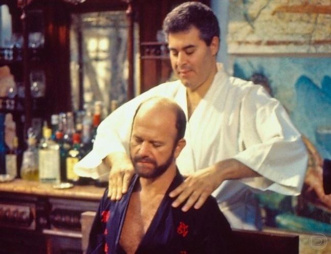 Mário Liberato (Cecil Thiré) em ?Roda de Fogo? (1986-1987)