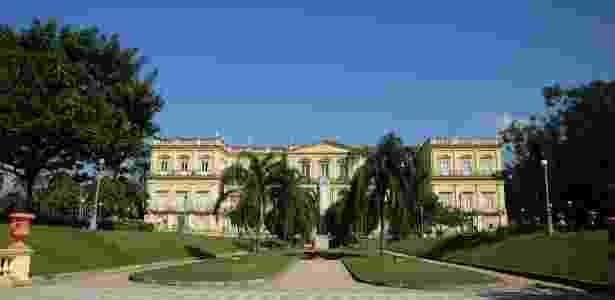 Museu Nacional na Quinta da Boa Vista, no Rio - Alexandre Macieira/Riotur