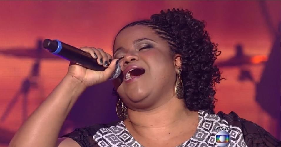 18.dez.2014 - Rose Oliver era uma das promessas ao título de melhor voz, mas deixou o programa após cantar