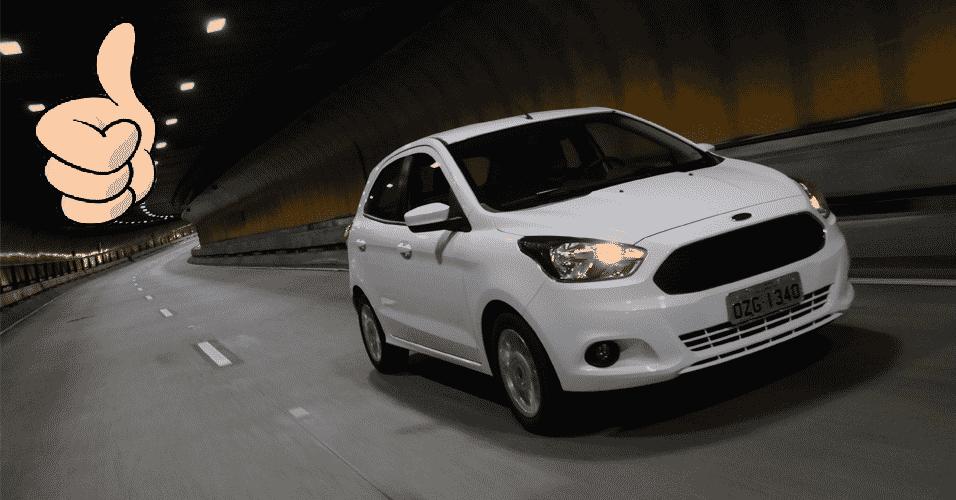 Ford Ka - Arte UOL Carros