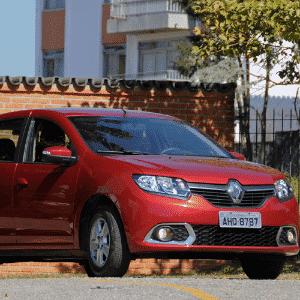 Renault Sandero - Arte UOL Carros