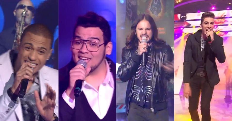 Romero Ribeiro, Lui Mendeiros, Kim Lírio e a dupla Danilo Reis e Rafael são os finalistas da terceira edição do