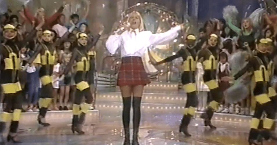 """Xuxa voltou para o seu público infantil em 1994 quando estreou, aos sábados, o """"Xuxa Park"""". Com cenários inovadores, a atração se renovava anualmente e ganhava nova cara até sua extinção em 2001"""