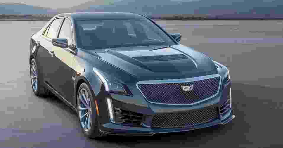 Cadillac CTS-V 2016 - Divulgação