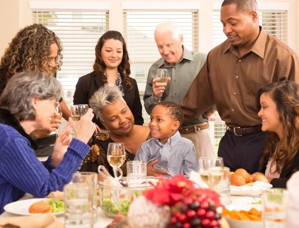 Não compare a sua ceia de Natal com a de comerciais de TV; a vida real não é perfeita - Getty Images