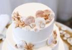 Bolos temáticos proporcionam charme extra a casamentos realizados na praia - Getty Images