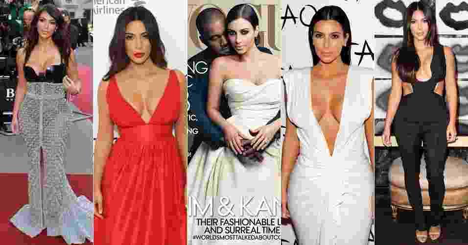 Kim Kardashian em 2014 - Getty Images/Divulgação