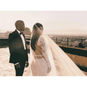 24.mai.2014 - Vestido Casamento Kim Kardashian - Reprodução/Instagram/@kimkardashian