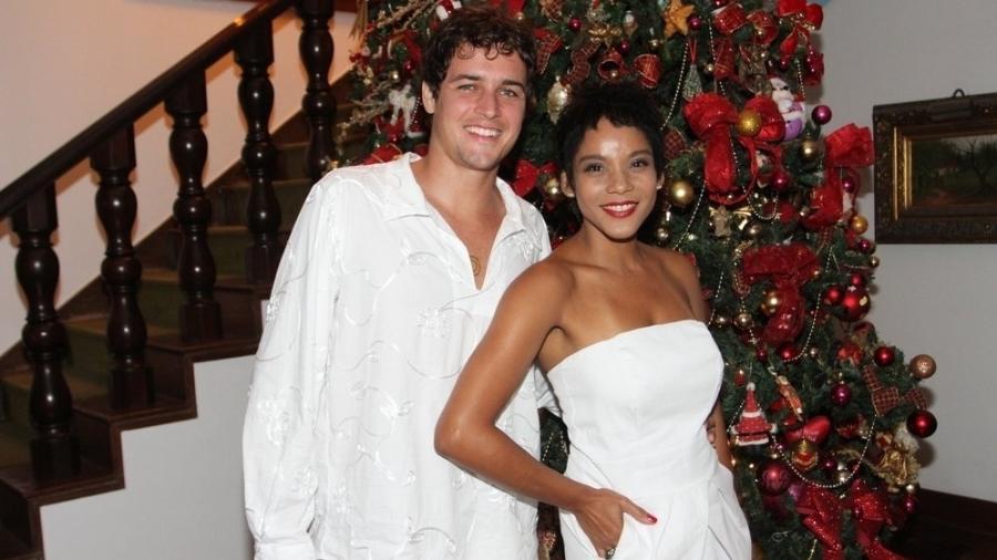 O agora ex-casal Felipe Dylon e Aparecida Petrowky - Ag.News
