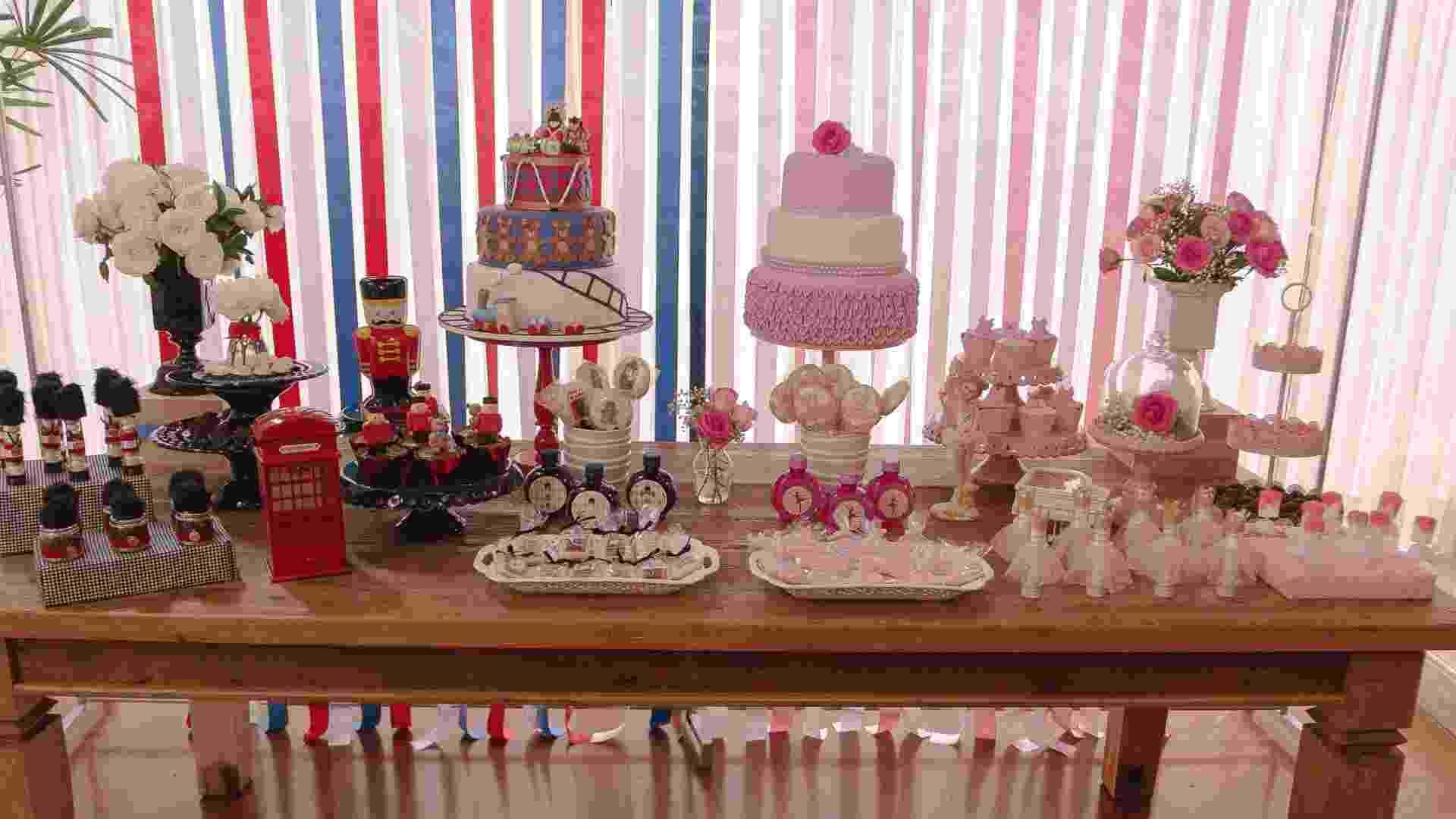 festa de aniversário de gêmeos com decoração de soldadinho de chumbo e bailarina | As decoradoras de festas Marcia Mesquita (www.facebook.com/MarciaMesquitaFestasEventos), Paula Picolli (www.facebook.com/paulapicollifestas), Lucimara Visini (www.facebook.com/surpresasdalu) e Andréia Amorim (www.facebook.com/DecorAmorFestaseEventos) se juntaram para criar o aniversário de um ano dos gêmeos Maria Eduarda e João Vitor - Arturo Dinardo/Divulgação