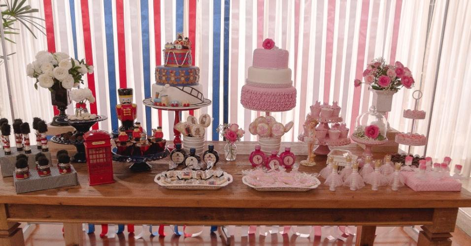 festa de aniversário de gêmeos com decoração de soldadinho de chumbo e bailarina | As decoradoras de festas Marcia Mesquita (www.facebook.com/MarciaMesquitaFestasEventos), Paula Picolli (www.facebook.com/paulapicollifestas), Lucimara Visini (www.facebook.com/surpresasdalu) e Andréia Amorim (www.facebook.com/DecorAmorFestaseEventos) se juntaram para criar o aniversário de um ano dos gêmeos Maria Eduarda e João Vitor