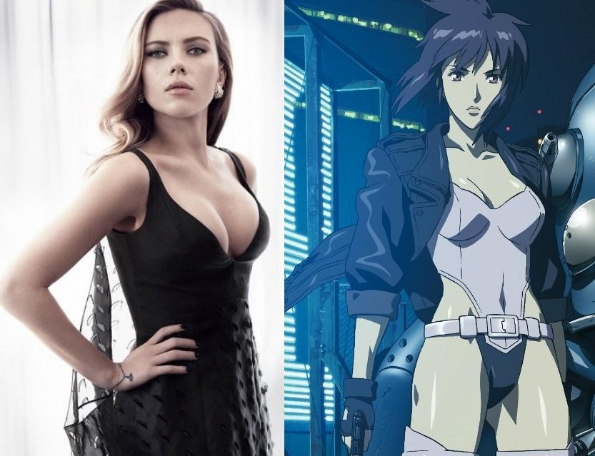 Scarlett Johansson pode viver a heroína de