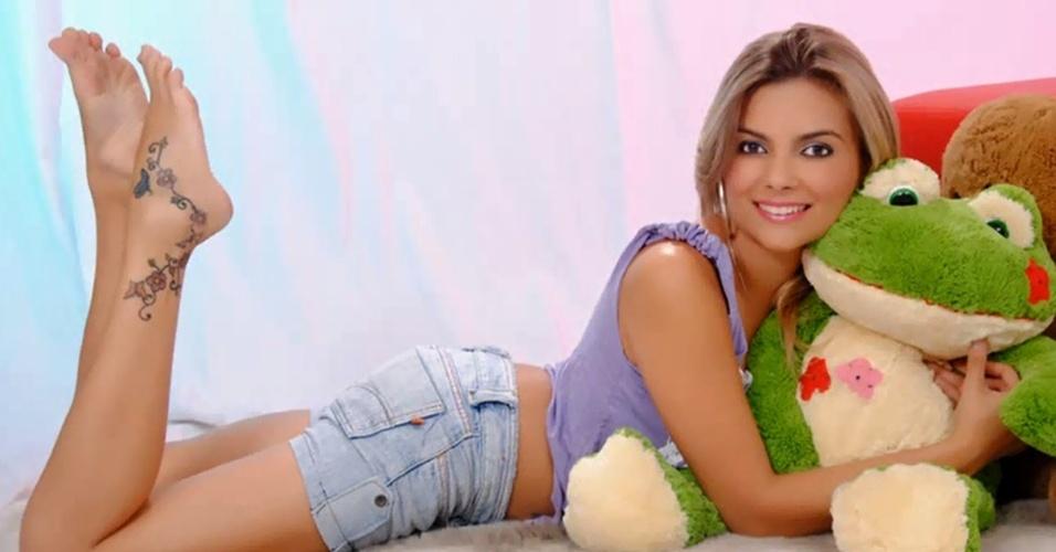 """A paulista Tathy Marinho que virou celebridade em Taubaté depois de se inscrever para o """"BBB11"""""""