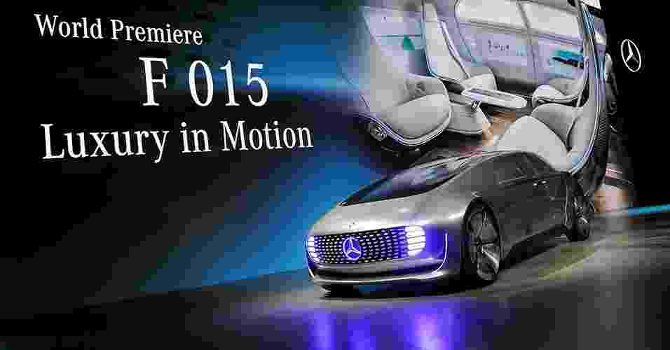 Mercedes-Benz F015 Luxury in Motion Concept - Steve Marcus/Reuters