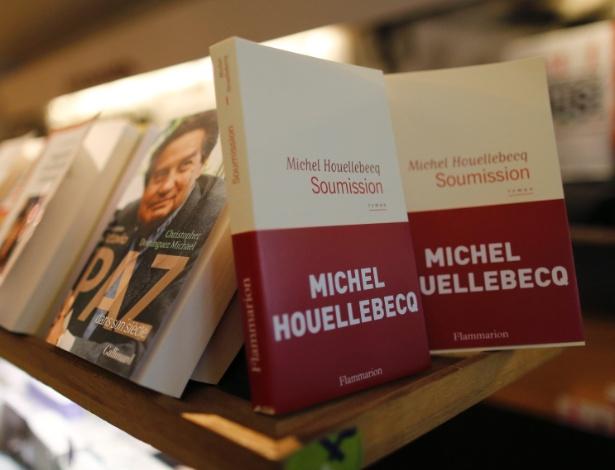 """Capa do livro """"Soumission"""" de Michel Houellebecq - Jacky Naegelen/Reuters"""