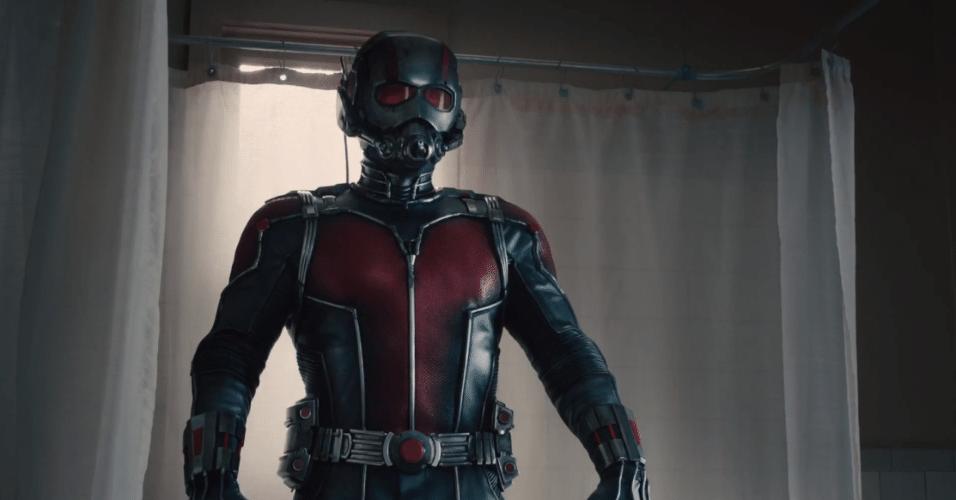 """Cena do filme """"Homem-Formiga"""" da Marvel Studios"""