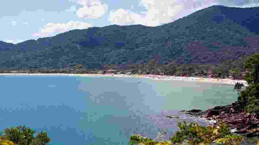 Vista da praia de Maresias, litoral de SP - Bruno Poletti/Folhapress