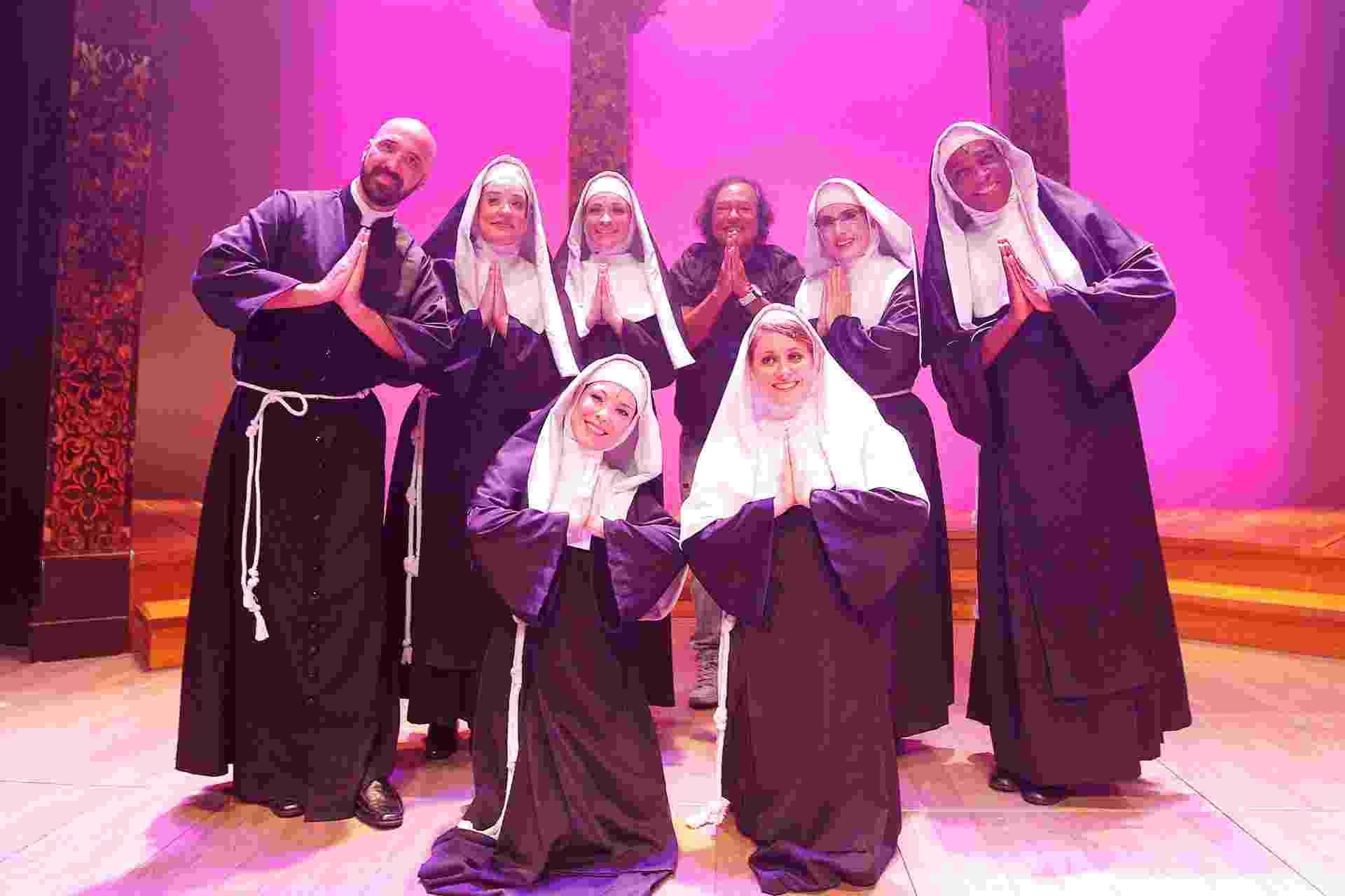 """8.jan.2015 - O musical """"As Noviças Rebeldes"""" fez sucesso no circuito off-Broadway (formado por teatros menores do que os da Broadway, em Nova York) - Reinaldo Canato/UOL"""