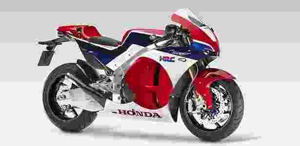 A Honda RC213V-S é a réplica da moto bicampeã da MotoGP, usada por Marc Marquez - Divulgação - Divulgação