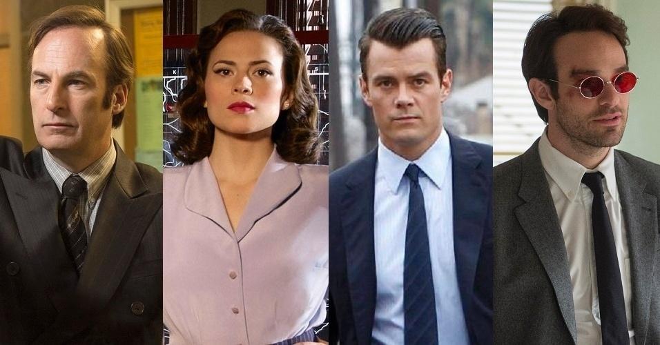 """As séries """"Better Call Saul"""", """"Marvel's Agent of Carter"""", """"Battle Creek"""" e """"Marvel's Daredevil"""" estão entre as principais estreias de 2015"""