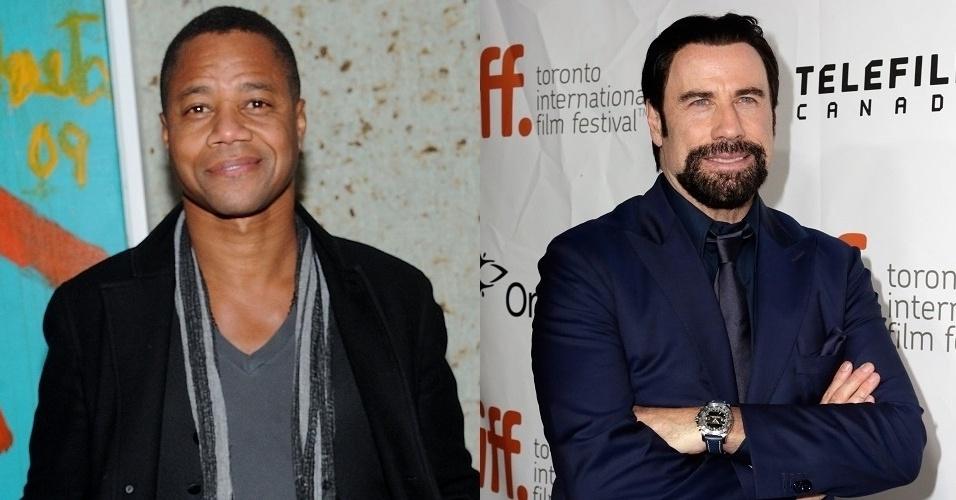 """Cuba Gooding Jr. e John Travolta estão no elenco da série """"American Crime Story"""""""