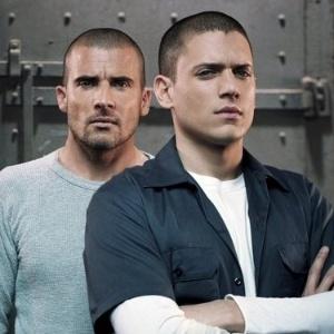 "Dominic Purcell e Wentworth Miller na série ""Prison Break"", que acabou em 2009"