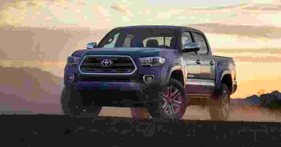 Toyota Tacoma 2016 - Divulgação