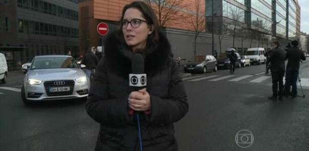 Após tiros, jornalista da Globo descreve tensão em cobertura na França