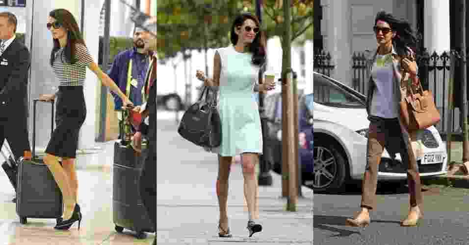 Looks de trabalho  elegantes e antenados da advogada Amal Clooney - Grosby Group