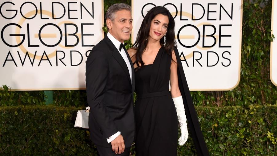 George Clooney e Amal Alamuddin esperam os primeiros filhos - Getty Images