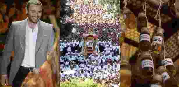 O estilista André Lima indica como passeio imperdível em Belém visitar a cidade durante o Círio de Nazaré e ir ao Ver-o-Peso comprar ervas de banho - André Muzell/Agnews / Raimundo Pacco/Folha Imagem / Marcelo Soares/UOL - André Muzell/Agnews / Raimundo Pacco/Folha Imagem / Marcelo Soares/UOL