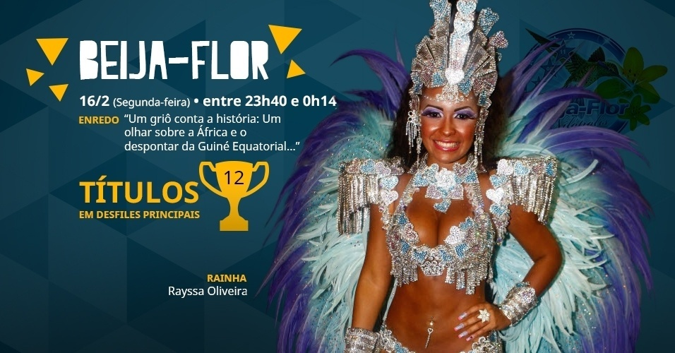 Carnaval 2015 - Capa do álbum da Beija-Flor