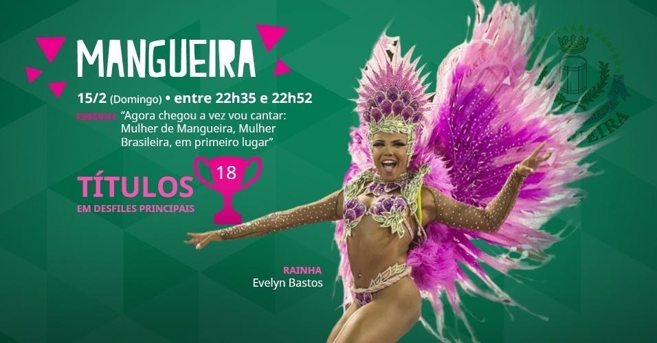 carnaval 2015 - capa do álbum da Mangueira