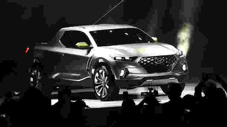 Hyundai Santa Cruz - AFP/Jewel Samad - AFP/Jewel Samad