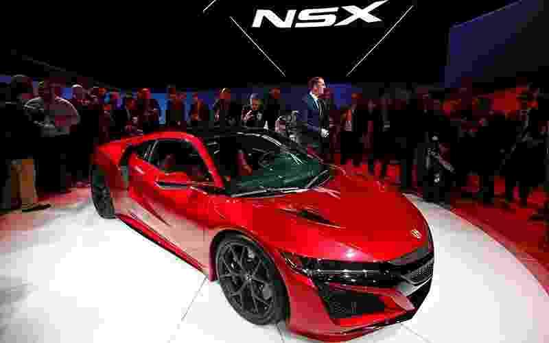 Acura NSX no Salão de Detroit 2015 - Mark Blinch/Reuters