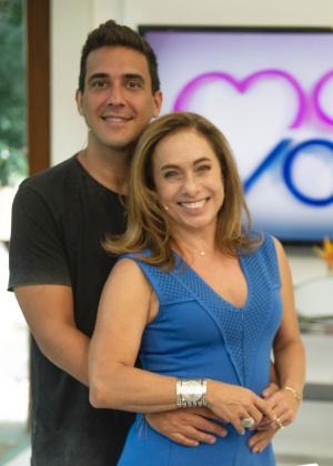 """Cissa Guimarães e André Marques substituem Ana Maria Braga no """"Mais Você"""""""